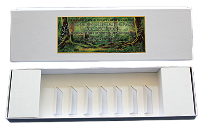 The Sacred Mountain Grass Collection - Empty Presentation Box