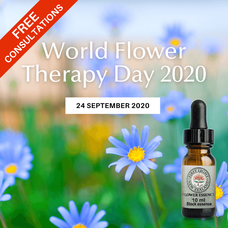 24 September 2020 - World Flower Therapy Day 2020