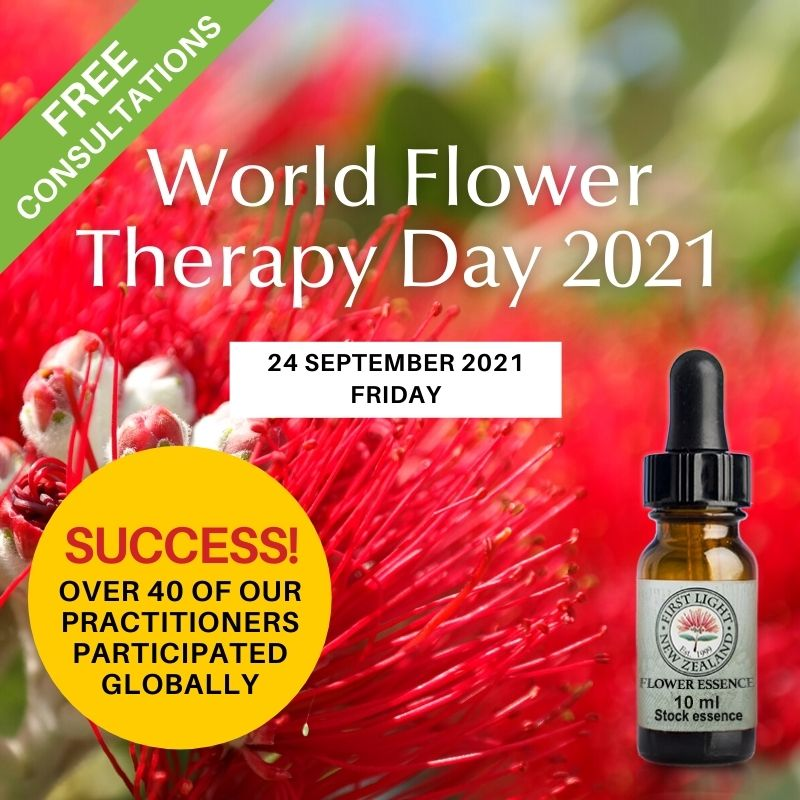 24 September 2021 Celebrating World Flower Therapy Day 2021  -  FREE Consultations